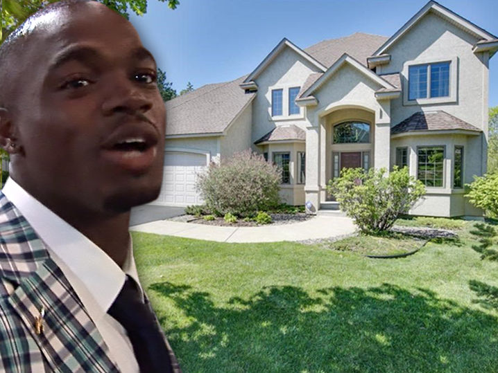 adrian peterson puts house on the market goodbye minnesota
