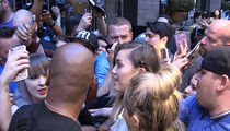 Miley Cyrus Nearly Crushed by Fans Like It's 2008 All Over Again (VIDEO)