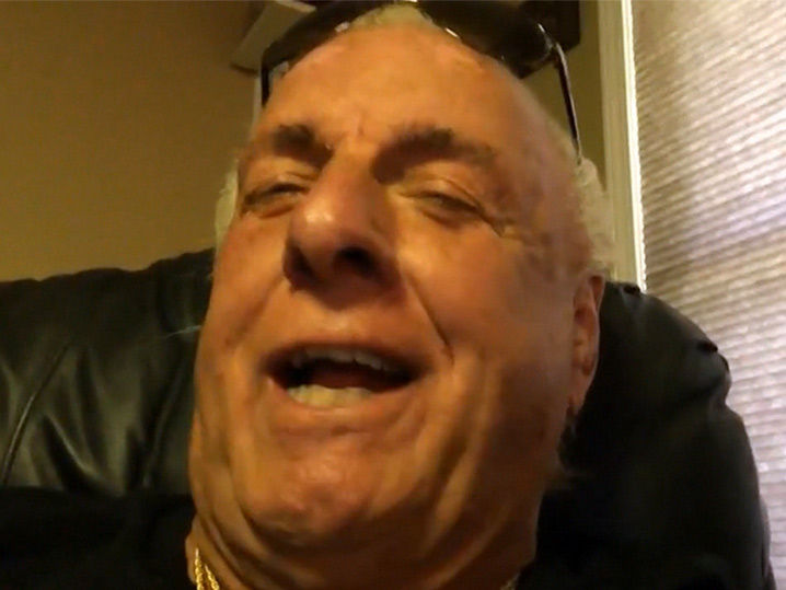 LeBron James told Ric Flair, 'You Kept Me Off the Streets' (VIDEO)