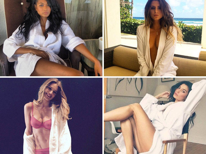 Hot Babes in Robes -- That's A Wrap!