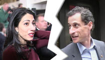 Huma Abedin Files to Divorce Anthony Weiner