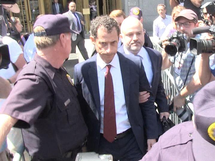 Weiner Whines in Court Guilty Plea