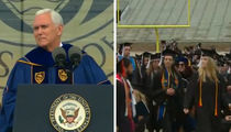 Mike Pence Makes Notre Dame Graduates Walk Out on His Commencement Speech (VIDEO)