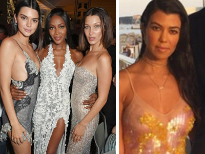 Kendall & Kourt Wore Two of the Shortest Dresses EVER at Cannes -- & Wait'll You See Pam…