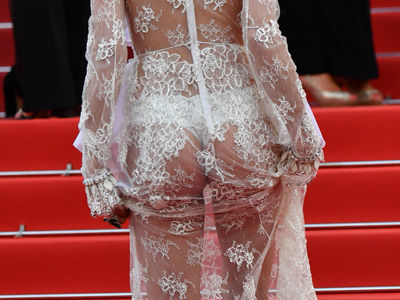 See Who Flashed MAJOR Booty on the Red Carpet at Cannes -- And More MUST-SEE Fashion!