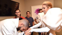 Celine Dion's Billboard Music Awards Dressing Room Was a Revolving Door of Celebs