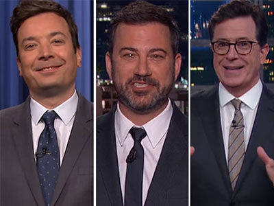 Yikes! Late-Night Comedians UNLOAD on Trump's Trip to the Middle East (Video)