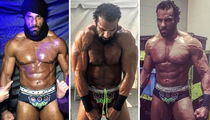 22 Shredded Shots of WWE's New Champ Jinder Mahal