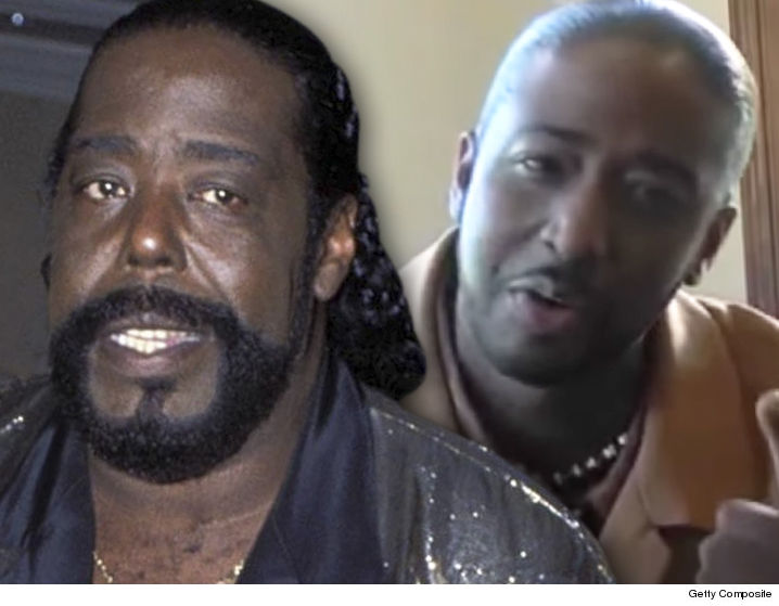 SINGER BARRY WHITE'S SON DARRYL, SUING ESTATE AND WIDOW!
