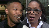 Jamie Foxx Says Oprah Saved Him from Alcohol (VIDEO)