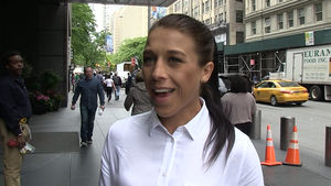JOANNA JEDRZEJCZYK -- WANTS TO BE LIKE CONOR MCGREGOR