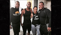 Jay-Z and Chris Paul Dad It Up Together At SoulCycle