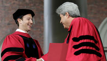 Mark Zuckerberg Finally Gets Harvard Degree, James Earl Jones Too!