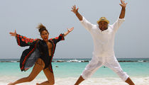 Adrienne Bailon Took Husband to Hard Rock Punta Cana for Bday Getaway (PHOTO GALLERY)