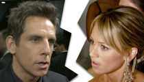 Ben Stiller and Christine Taylor Separating