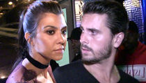 Kourtney Kardashian Says Scott Disick Can't See Kids Unless He Sobers Up