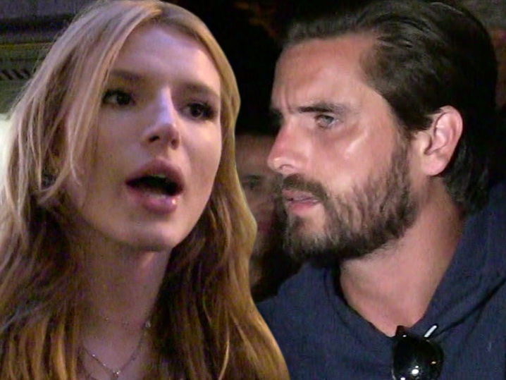Bella Thorne Humiliated by and Enraged at Scott Disick