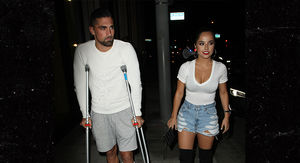 Becky G's Smokin' Hot Date Night with Injured…