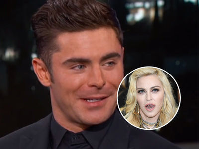 Did Zac Efron Have Sex With Madonna?! Jimmy Kimmel REALLY Wants to Know!