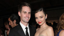 Miranda Kerr Sings Karaoke to Evan Spiegel at Her Wedding