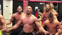 Jason Momoa Performs Haka Dance for UFC Fighter Mark Hunt