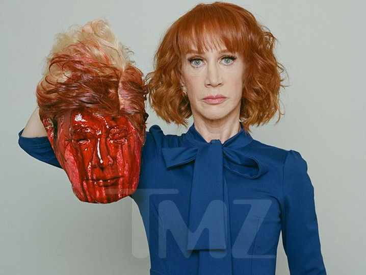 Kathy Griffin Beheads Donald Trump in Shocking Photo Shoot (PHOTO)