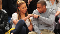 Beyonce & Jay-Z's Courtside Date Night