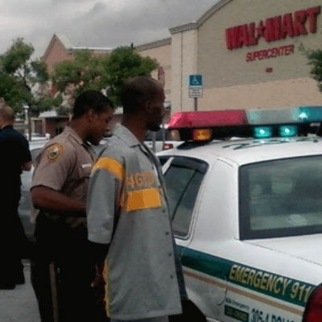 DMX Arrest at Walmart