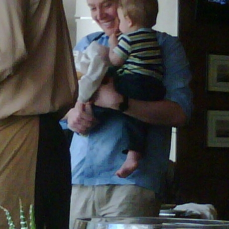 Clay Aiken and His Baby