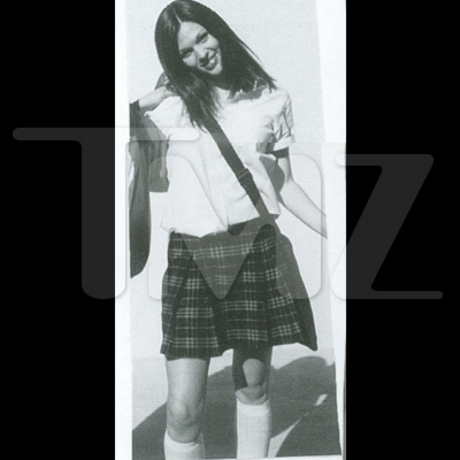 Megan Fox High School Pics