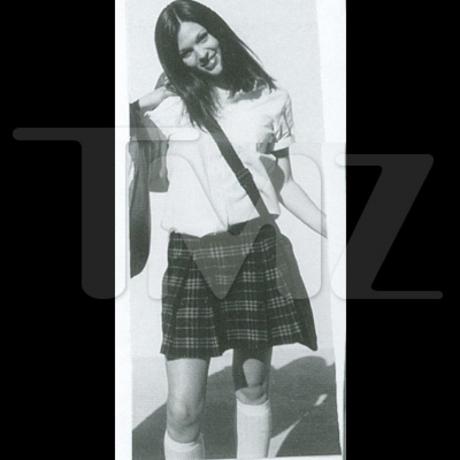 Megan Fox High School Pics