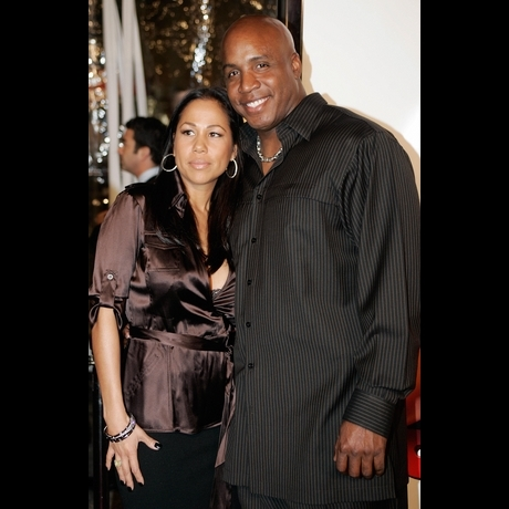 Barry Bonds And Liz