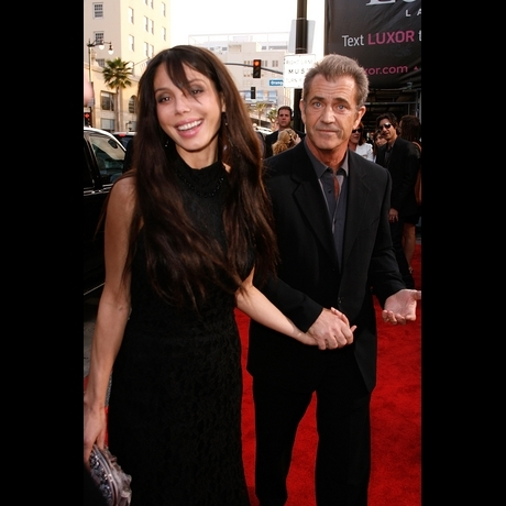 Mel Gibson and Oksana Grigorieva
