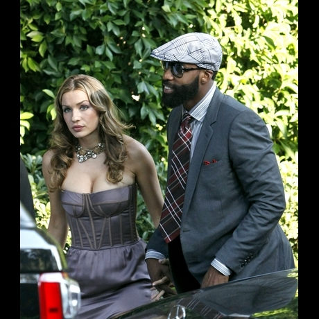 Arrivals For Khloe And Lamars Wedding