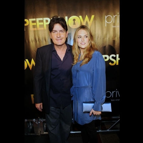 Charlie Sheen & Wife