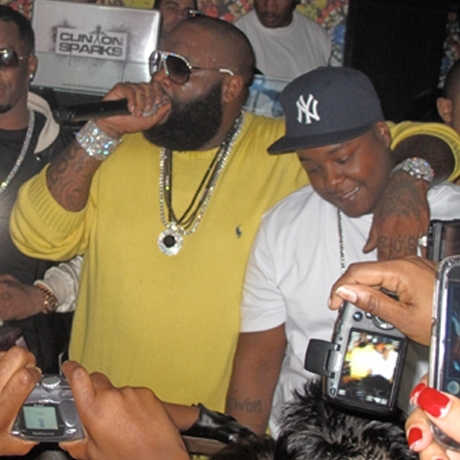 Rick Ross Ford Mayweather Las Vegas Fight
