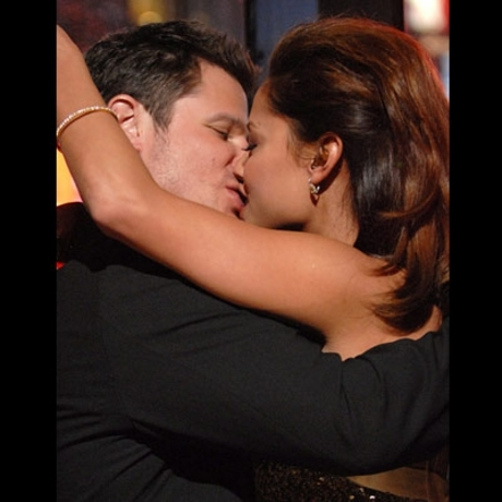 Kim's ex fling Nick Lachey and his current girlfriend Vanessa Minnillo join ...