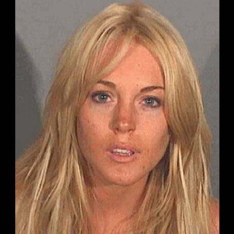 Celebrity Mugshots -- Say cheese!