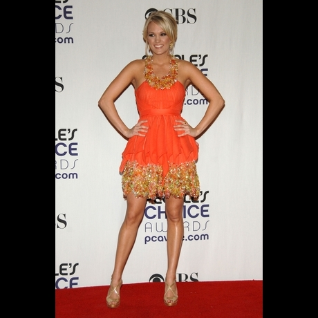Celebs in Orange