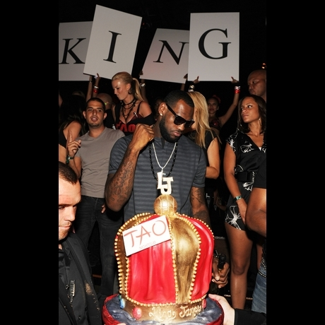 LeBron James at TAO Las Vegas