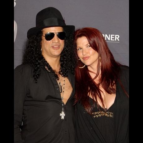 Slash and Mrs. Slash -- The Cute Couple