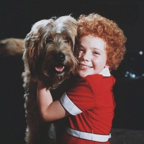 "Aileen Quinn became famous for playing little orphan Annie in the 1982 film ""Annie."""