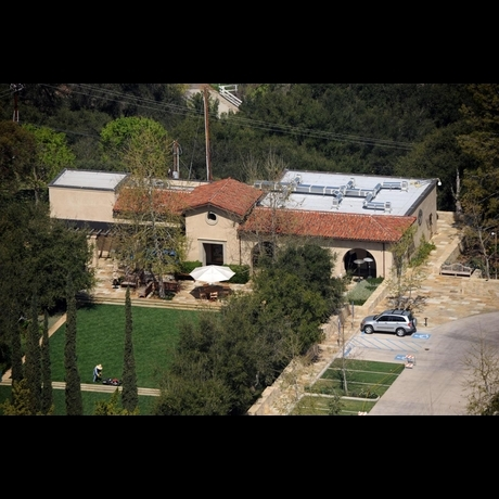 Mel Gibson's Church -- Zoom View!