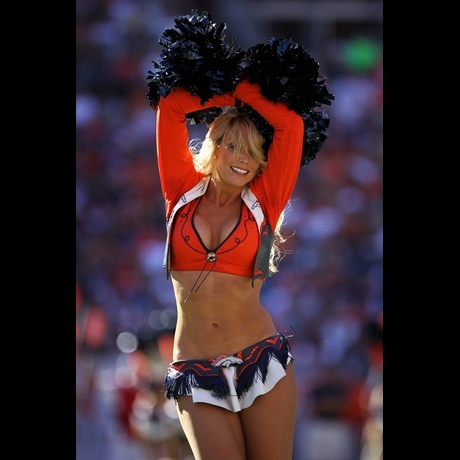 Sexy bronco cheerleaders nude consider