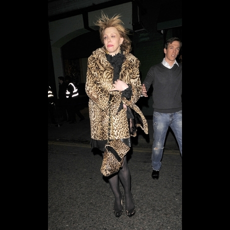 Courtney Love Released Into the Wild -- Zoom View!