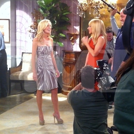 Camille Grammer on Set SMDS Filming Photo gallery Pictures