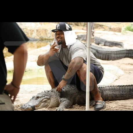 Darnell Dockett's Reptile Friend
