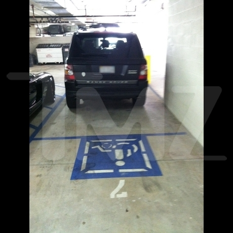 Chris Brown Handicapped Parking Photo Gallery Pictures