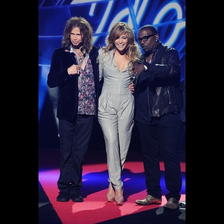 American Idol Judges Jenifer Lopez Randy Jackson Steven Tyler Photo Gallery