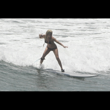 Lady Gaga Surfing Picture Gallery Mexico